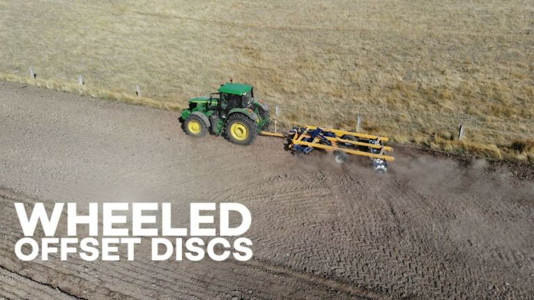 Offset Discs, a range designed for seriously hard going image
