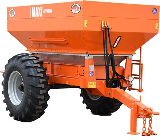 p4-23 — Agrex MAXI 7000 (6000L) Trailer Fertiliser Spreader