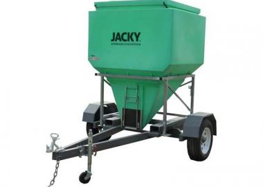 Jacky Mobile Feed Trailer