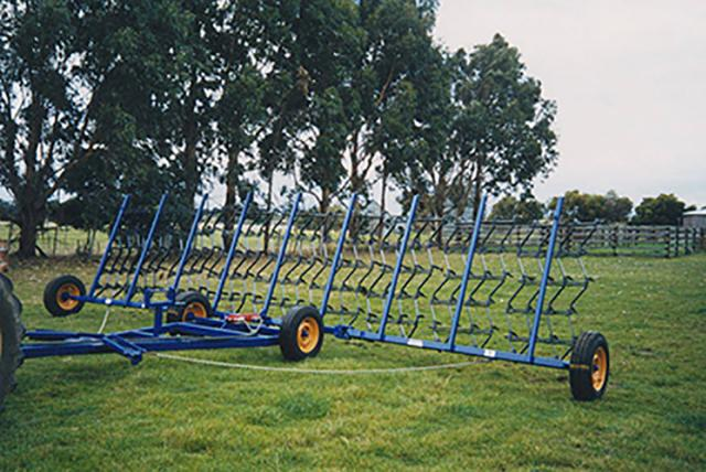 w2-20 — DELMADE Trailing Stump Jump Harrows
