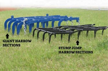 DELMADE Stump Jump Harrow Sections