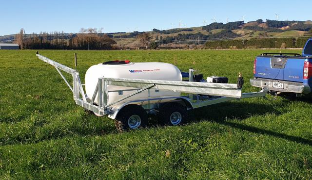w4-01 — Walco Allspray 1200 Liquid Fert Sprayer - from $29 535