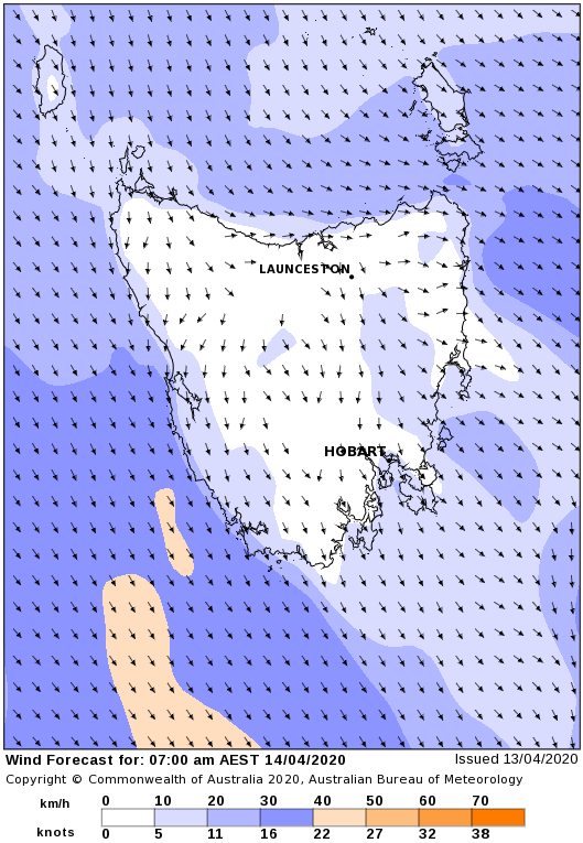 Delmade Weather Resources Wind Forecast Image. Click Image to go to BOM.  Live Rain Radar and Wind Forecasts